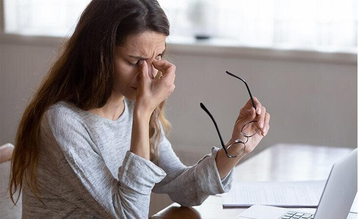 Как сохранить здоровье глаз, если вы постоянно работаете за компьютером?